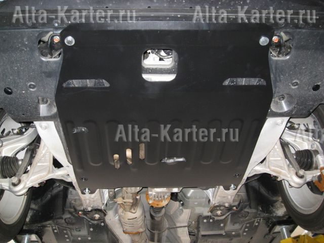 "Защита ""Alfeco"" для картера и КПП Honda Legend IV 2004-2012. Артикул ALF.09.17"