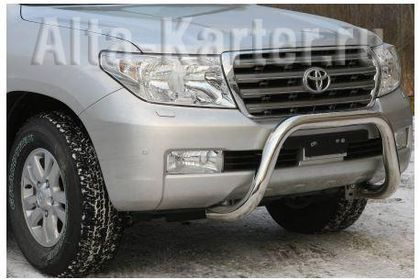 Кенгурятник оригинальный d76 для Toyota Land Cruiser 200 2012-2015. Артикул NL20560562