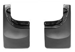 "Брызговики ""Weathertech"" DigitalFit No Drill MudFlaps задняя пара для Dodge Ram IV 2009-2019. Артикул 120026"